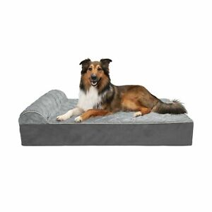 Furhaven Pet Beds for Small, Medium, Large, and Jumbo Dogs and Cats - Chaise ...