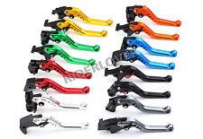 Short Brake Clutch Levers For Kawasaki ZZR1100 ZZR1200 ZR-X1100 1200 ZX7R/RR ZX9