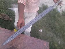 SSM!563 Custom Hand Made Damascus Steel Hunting Sword Blank