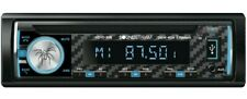 Soundstream 1-Din Car DVD CD MP3 USB SD Player  Head Unit Bluetooth Carbon Fiber