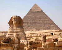 Ancient Monuments PYRAMIDS OF GIZA Glossy 8x10 Photo Print Cairo, Egypt Poster