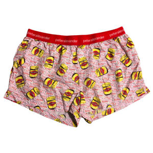 peter alexander pj Shorts Boxer Shorts Size L HAPPY LITTLE VEGEMITE