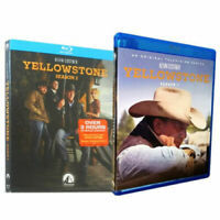 New Yellowstone Season 1 & 2 Blu-ray Series One Two Blu-ray 6-Disc Set