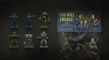 New! Fallout 76 Power Armor Edition 24 Collectible Figurines Figures Only