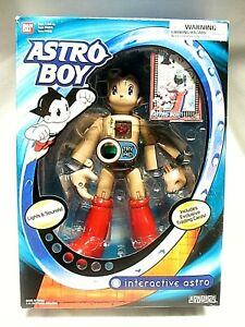 "Bandai Astro Boy 10"" 2004  plus Trading Cards New  (CT)"