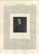 1926 The Lamented Death Of Mr William Henry Allen, Engineer