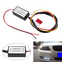 1x New Portable Car LED Daytime Running Light Controller Module DRL Relay Kits