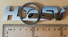 HSV badge emblems logo Side Skirt/Boot Lid Badge Chrome Holden
