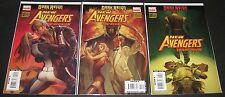 New Avengers: The Reunion 2, 3 & 4 (2009, Marvel) 1st Print (3) comic lot