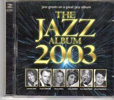 (DV766) The Jazz Album 2003, 36 tracks various artists - 2002 double CD