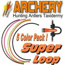 Bow String D Release Loop 25' Archery Nock 5 Colors