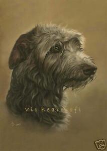 Irish Wolfhound, Open Edition Fine Art Print