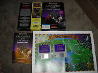 Wizardry Crusader of the Dark Savant for IBM DOS*AD&D*+CLUE BOOK CRPG Sir-Tech
