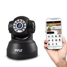 Pyle PIPCAM5 IP Wireless Camera Surveillance Security Monitoring System - Black