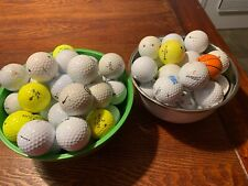 Mixed Lot 80+Golf Balls, Conditions Vary