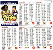Select Checklist Select AFL & Australian Rules Football Trading Cards