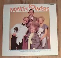 FAWLTY TOWERS - Fawlty Towers 1979 UK BBC Vinyl LP EX NM TV Tie-In John Cleese
