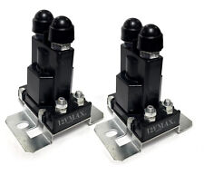 2Pc High Current Relay Dual Battery Isolator 80 AMP for Multi-Battery Systems R8