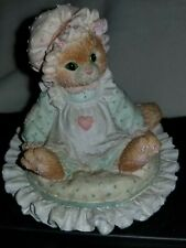 """Enesco Calico Kittens 1992 """" Just Thinking Of You"""" #627917 *no Box"""