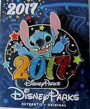 Disney Parks WDW 2017 Stitch Moon and Stars Pin 3d New on Card