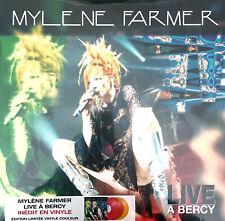Mylène Farmer 3xLP Live À Bercy - Tirage limité, Vinyles de couleur - France