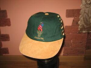 Vintage Olympic Atlanta 1996 McDonalds Strapback Baseball Cap OSFA