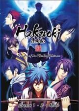 DVD Hakuoki Demon Of The Fleeting Blossom Season 1 - 3 + Movie English Dubbed