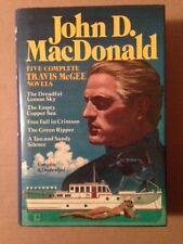 Five Complete Travis McGee Novels by John D. MacDonald (1985, Hardcover)