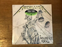 Metallica 2 LP in Shrink w/ Hype - And Justice For All - Elektra 9 60812-1 1988