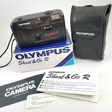 NEW Olympus Shoot & Go R 35mm Film Camera Retro - Original Box + Case