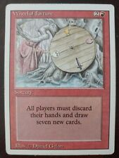 Wheel of Fortune Revised MTG Magic the Gathering Card Played