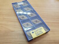 10pcs of Sumitomo DNMG 150604 N-SU solid carbide turning inserts