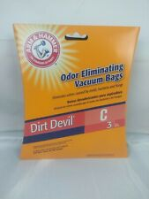 Arm N Hammer Dirt Devil Type C Vacuum Bags 3 Pack