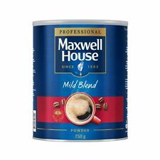 Maxwell House Mild Blend Instant Coffee Powder Tin 1 x 750g
