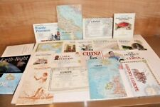 Lot of 20 National Geographic Maps 2000's Canada Europe