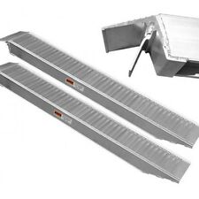 4 Tonne Aluminium Bike Car Trailer Loading Ramps 1.6m x 30cm