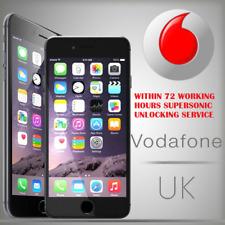 Vodafone UK IPhone  3G 3GS 4 4S 5 5C 5S Factory Unlocking Service 1-48hours