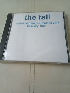 The Fall Live In St Helens 20/2/1981 cd