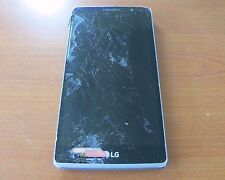 LG G STYLO LS770 - 8GB - Silver Cell Phone. Won't turn on. For Parts