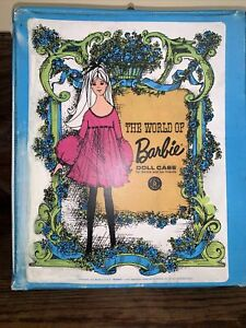 1968 Barbie Turquoise Blue Wardrobe Case