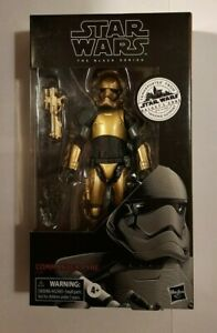 """STAR WARS COMMANDER PYRE GALAXY'S EDGE BLACK SERIES 6"""" ACTION FIGURE IN STOCK"""