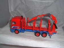 SIKU TOYS GERMANY DAF 95 TIMBER HAULER TRUCK NEW HOOK NO WING MIRRORS SEE PHOTOS