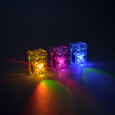 2 x LED LUNAR LIGHT BLOCK compatible with Lego Bricks Multi coloured FREE AXLE!
