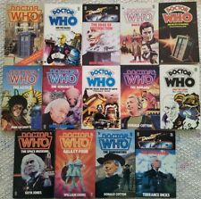 Doctor Who - 1st Doctor Target paperback book lot - some Rare - ships free!