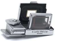 ✅ LEICA LEITZ 9CM SEROO FOLDING FRAME FINDER VIEWFINDER 90MM LENS FEET SCALED