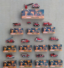 MATCHBOX - MODELS OF YESTERYEAR FIRE ENGINE SERIES - SELECTION OF MODELS - BOXED