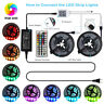 5M 3528 5050 RGB LED STRIP LIGHTS FLEXBILE TAPE LIGHTING 44KEY IR CONTROLLER 12V