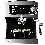 Cecotec Power Espresso 20 1,5L 20 Bares Cafetera - Plata/Negra