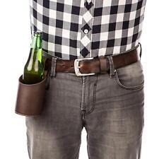 Beer belt holster Waist bottle/can/drink/beverage pocket holder BBQ fun gift