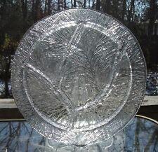 """Vtge Hadeland Glassverk. """"Furu"""" Divided Plate, Design Severin Brørby, Norwegia"""